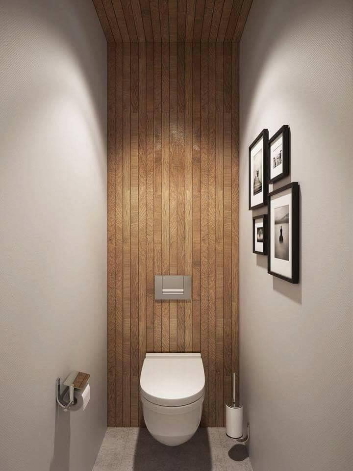 wooden bath wall