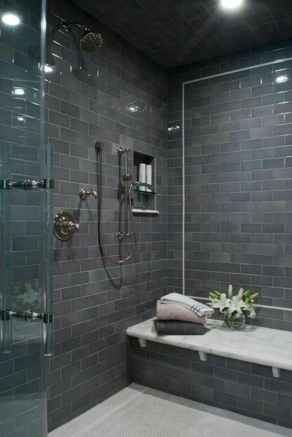 bricks walls in bath