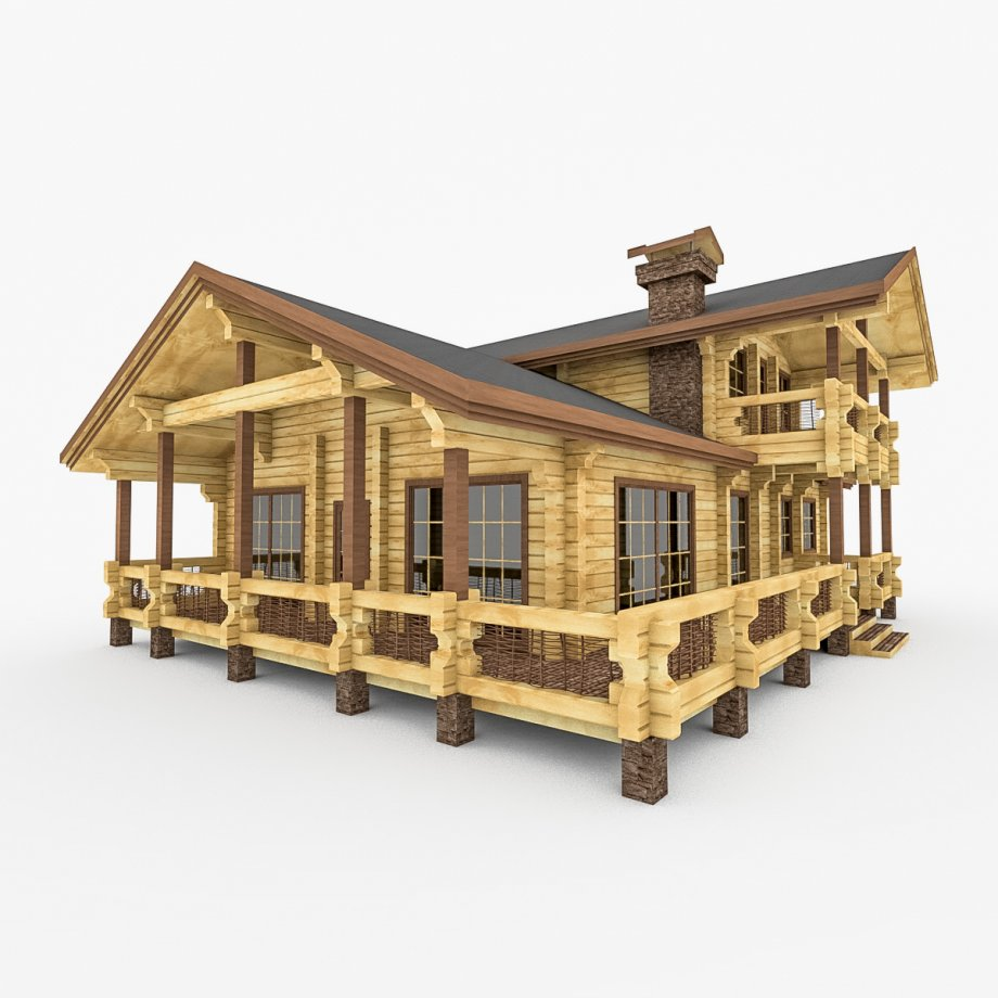 Wooden Building design