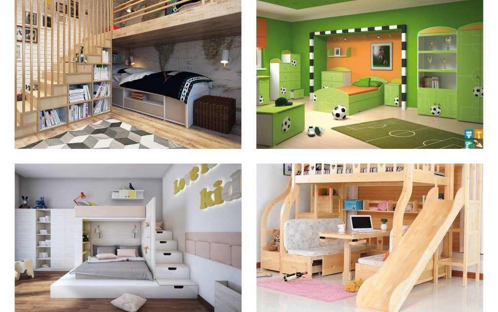 Brethtaking Kids Room Design