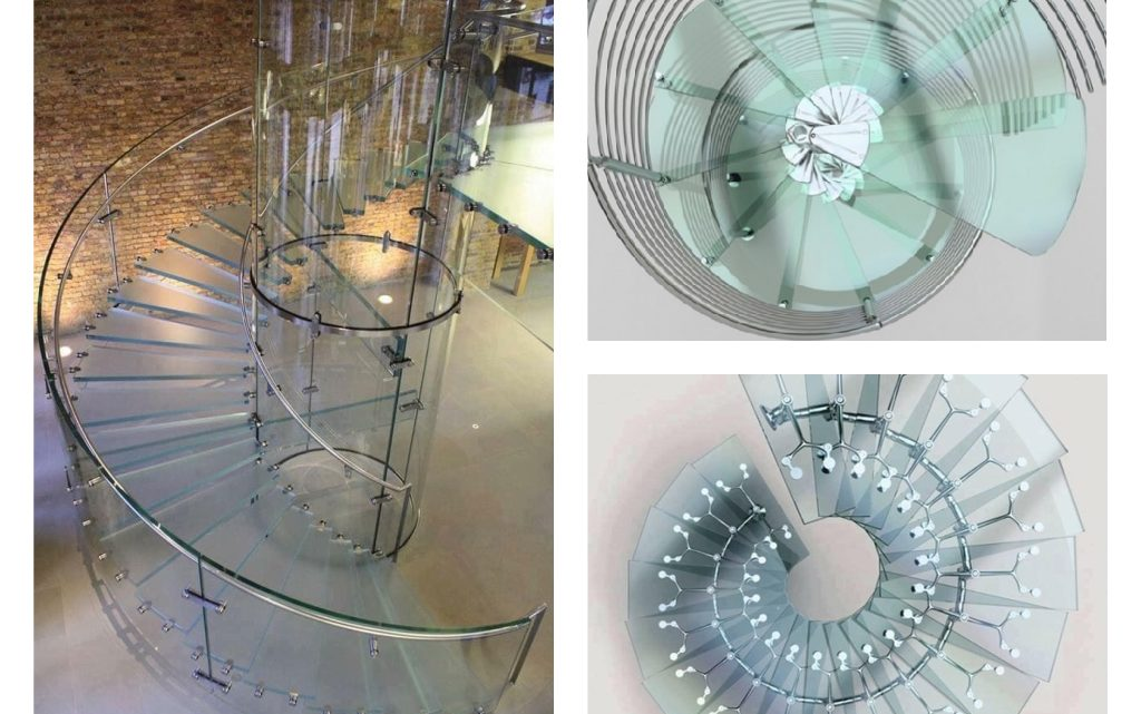 Surprising Floating Glass Stairs Will Take Your Breath Away