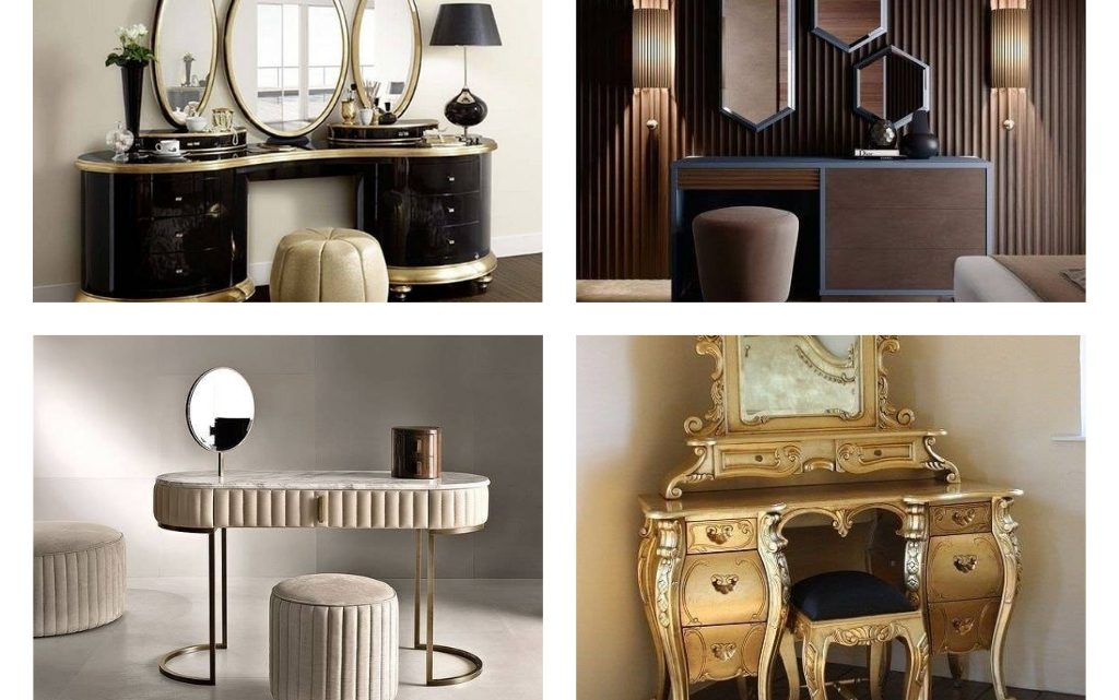 Modern Dressing Table Designs That Women Will Adore