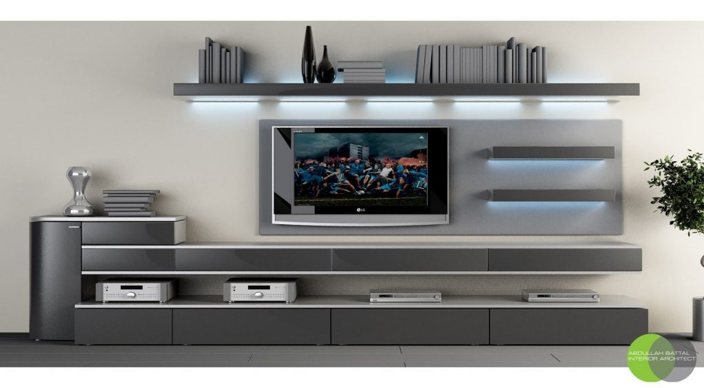 LED TV stands
