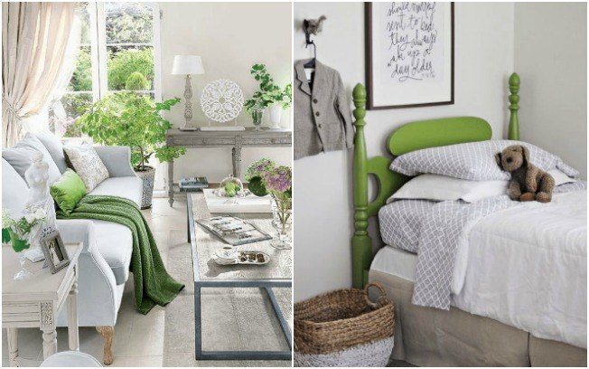 light green and light grey