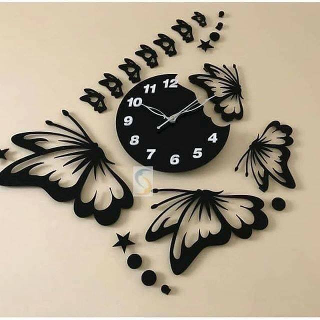 acyrilic wall clock