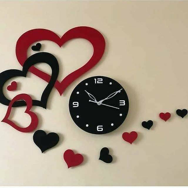 romantic wall clock