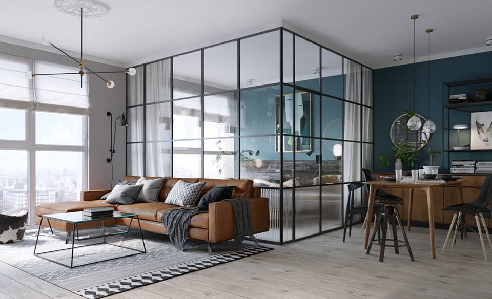 glass door dividers