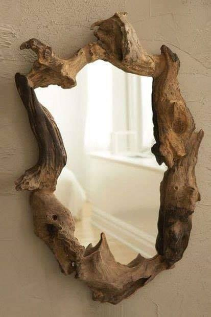 wood roots mirrors
