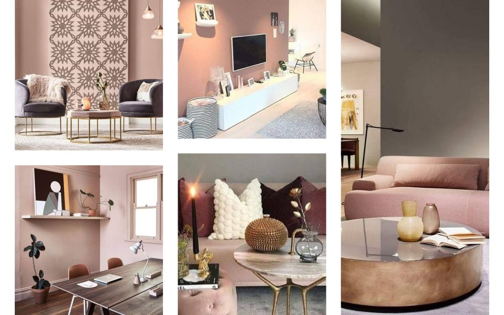 Dusty Pink Interiors Worth Coping
