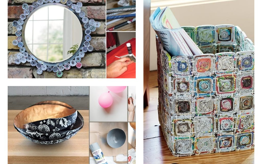 Stunning DIY Newspaper Ideas