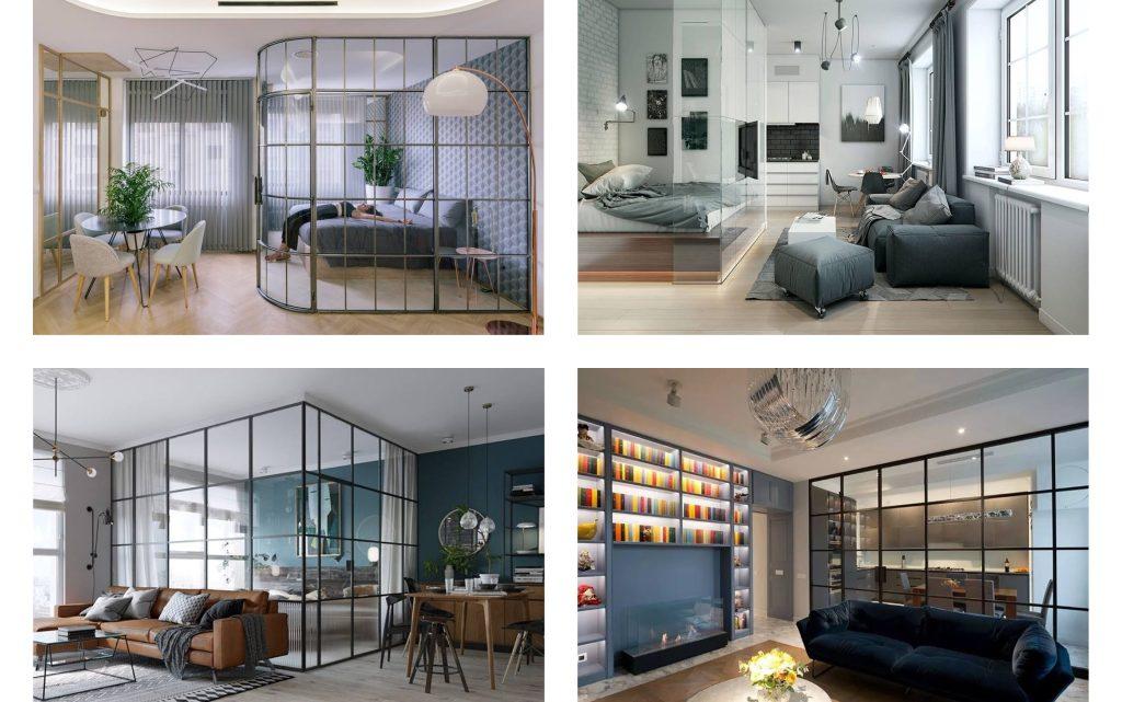Very Nice Glass Room Dividers