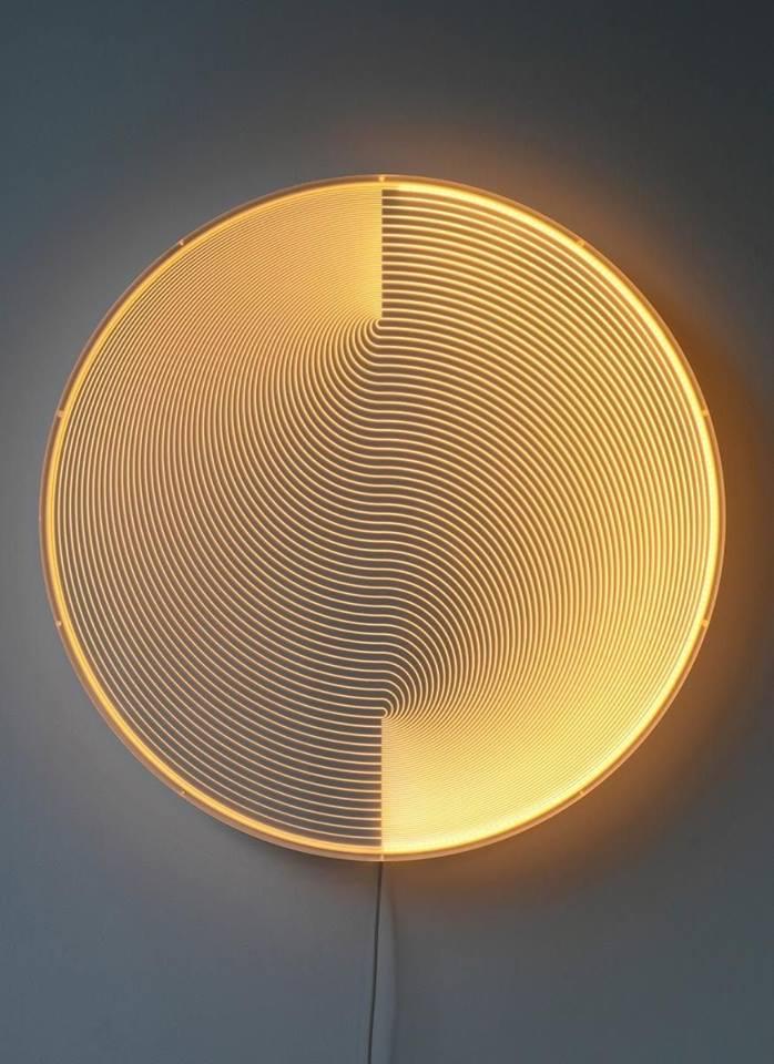 circular wall lamps