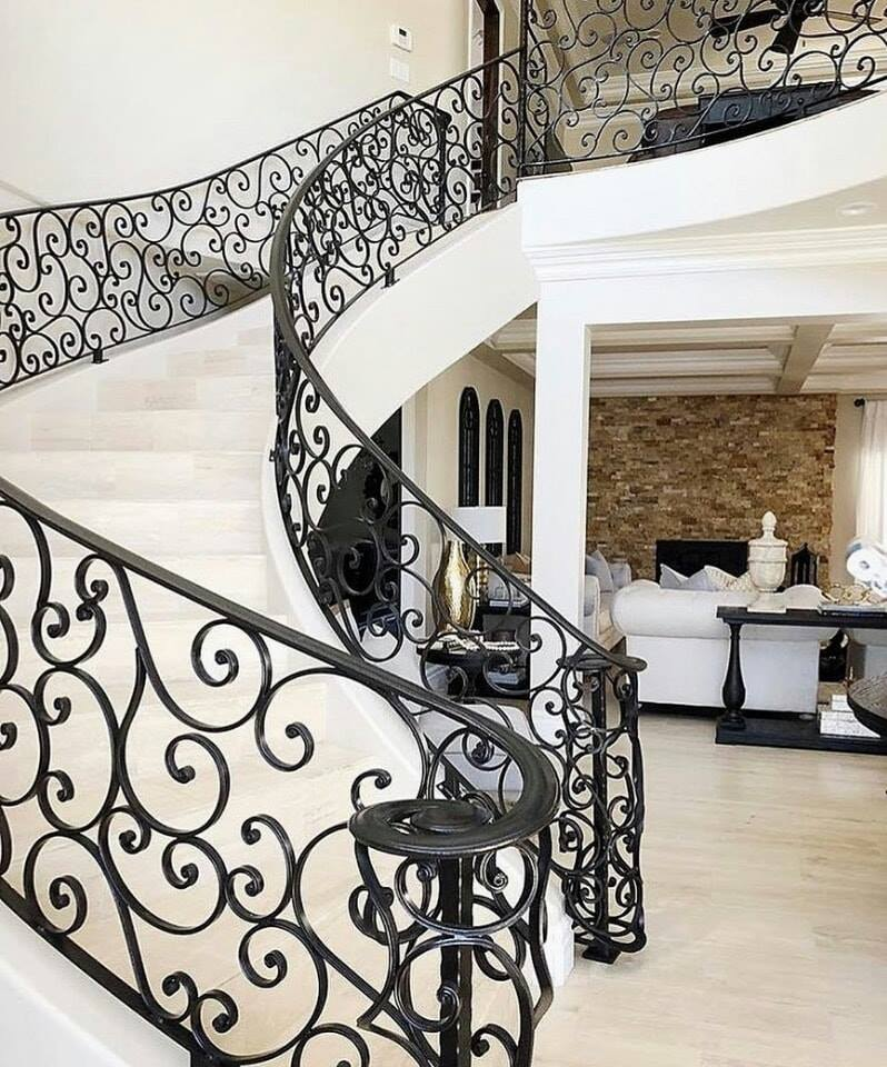indoor stairs