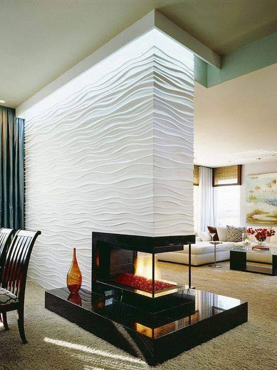 textured wall design