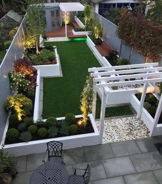 Glamorous Backyard Design