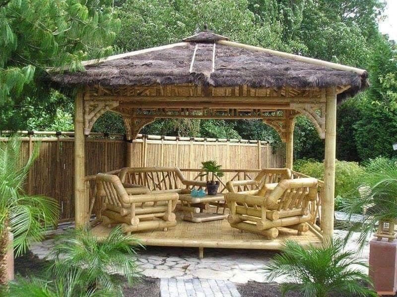 outdoor pergola