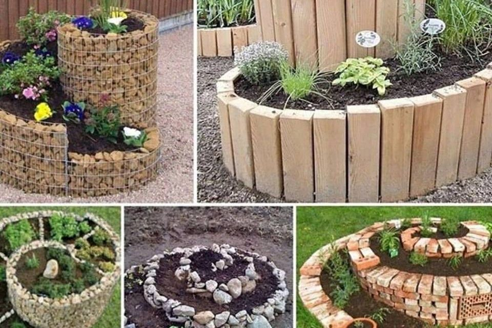 You Need to See These Beautiful Spiral Garden Ideas