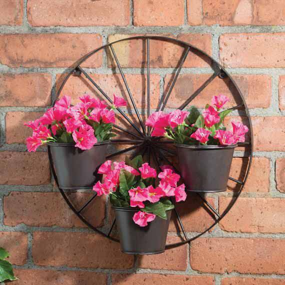 wheel planter holder