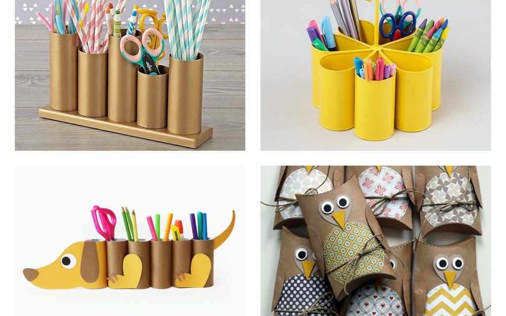 Toilet Paper Rolls Reuse in Creative Ways