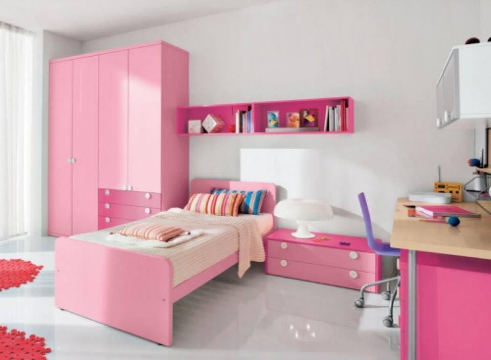 superb girl's room design