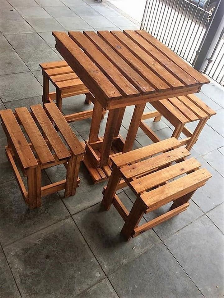 wooden canteens furniture