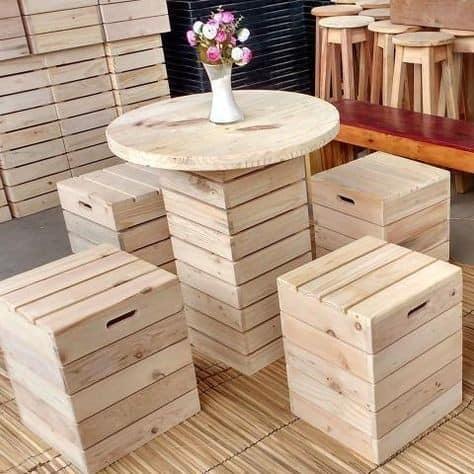 wooden canteens