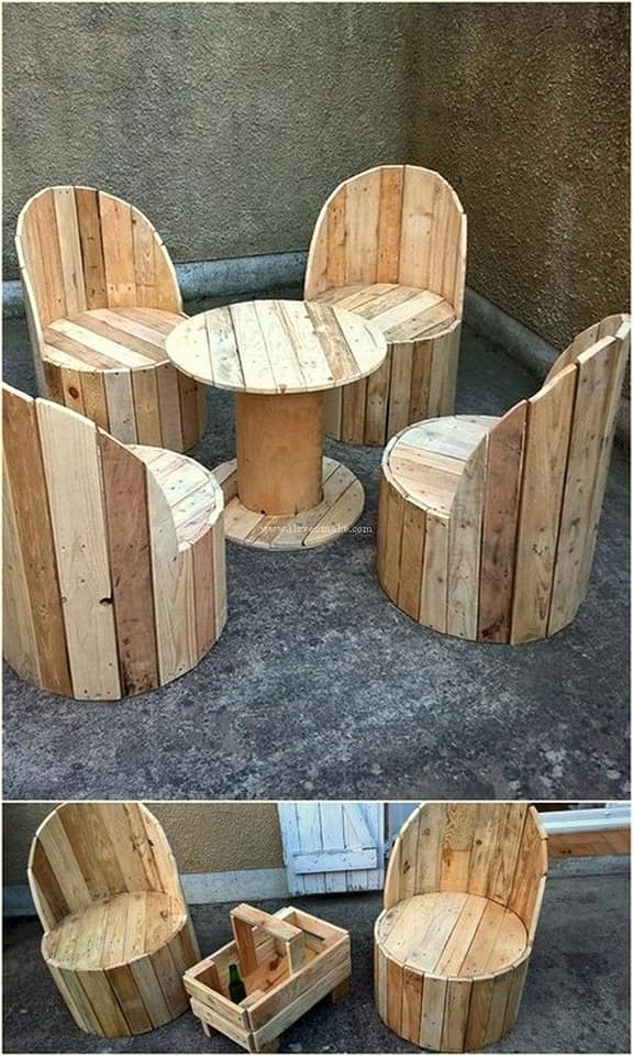 lovely chairs and table