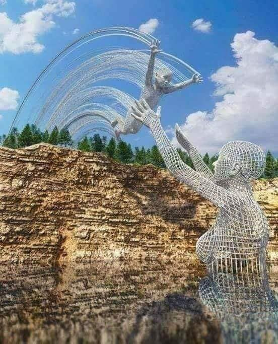 sculpture by Chad Knight