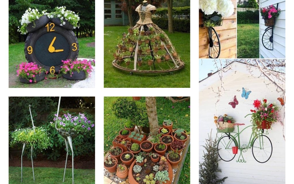 Creative DIY Garden Decor Ideas