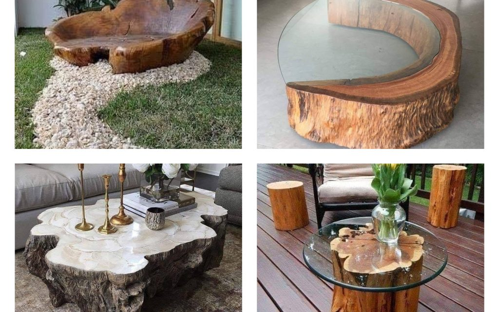 Decor With Rustic Wood Furniture