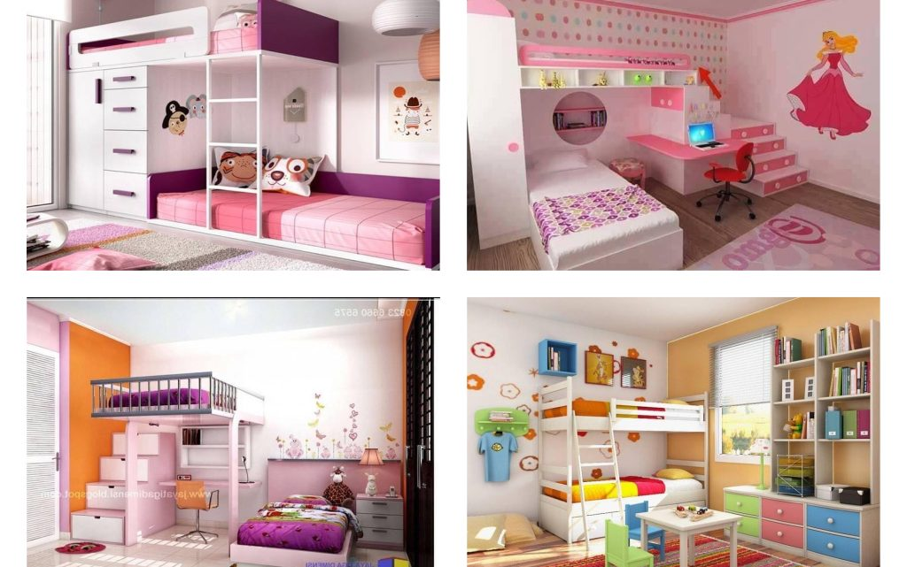 Amazing and Cute Kid's Bunk Bed Designs