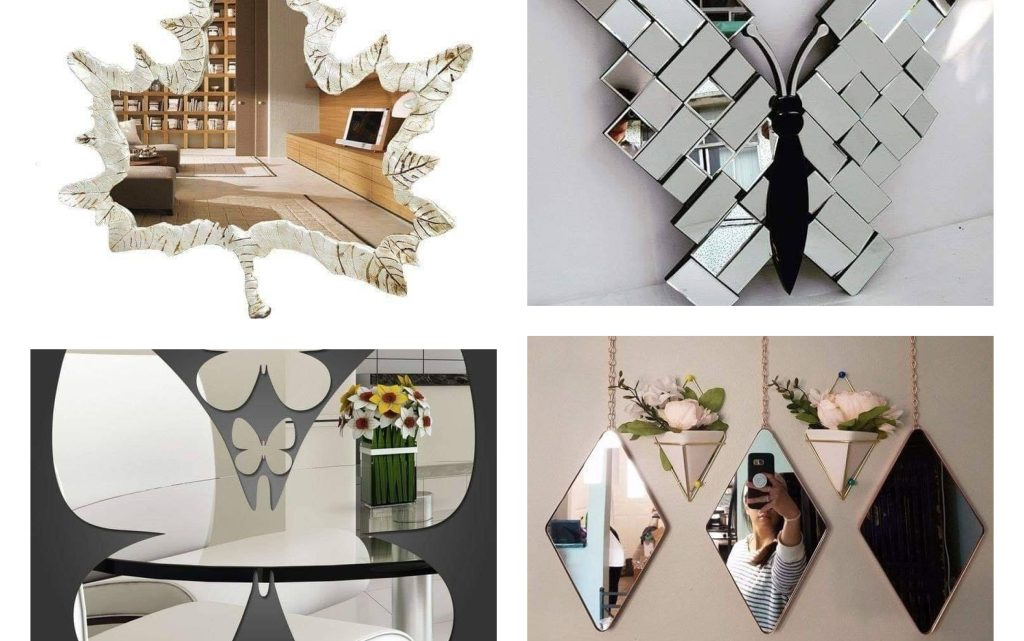 Amazing Decor With Wall Mirrors