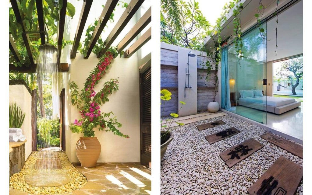The Most Amazing Outdoor Shower You've Ever Seen