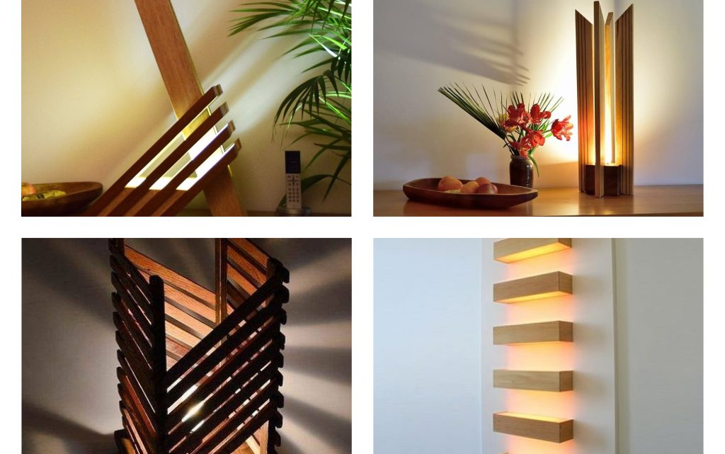 Such an Amazing Wooden Lamps