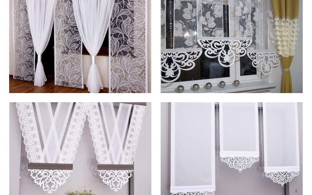 It's Time for Stylish White Curtains