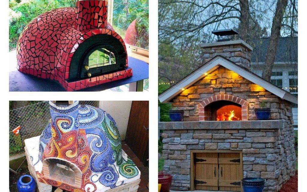 DIY Outdoor Pizza Oven in Creative Way