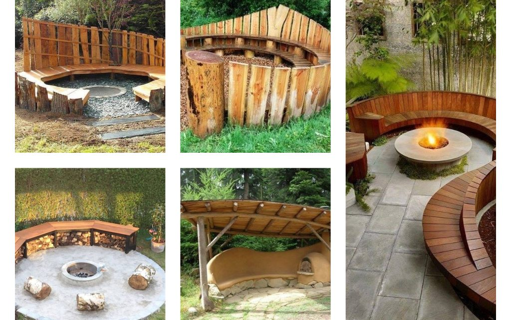 Wooden Outdoor Seating Areas