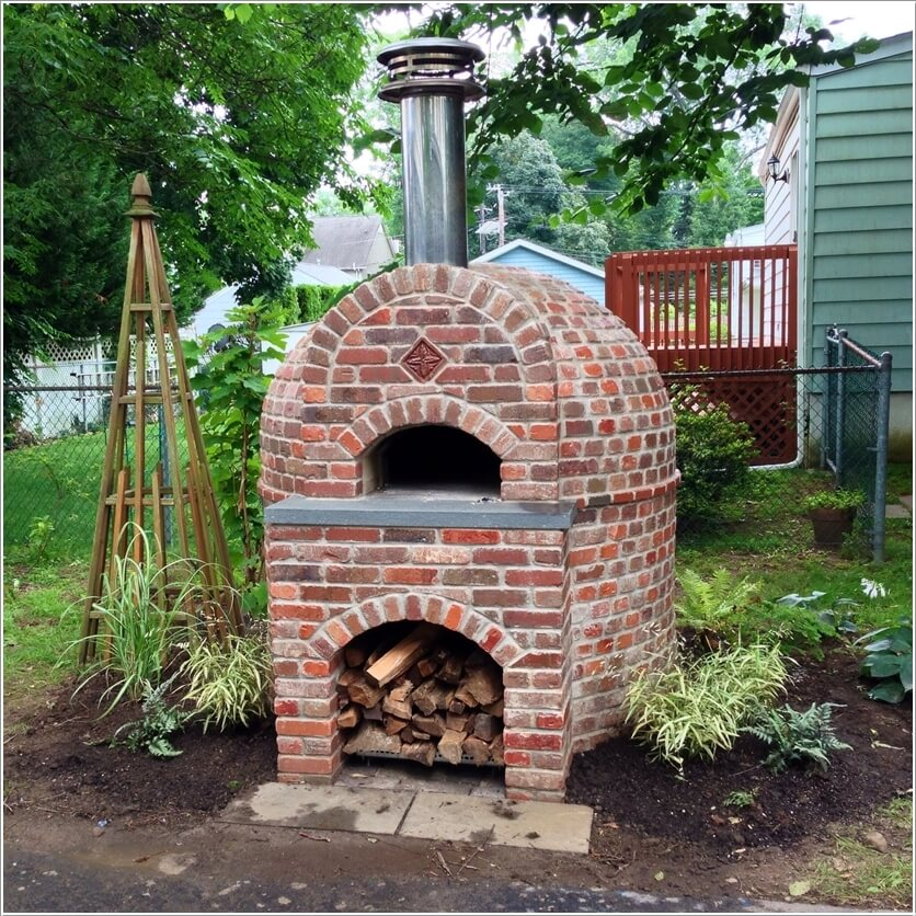 bricks pizza oven