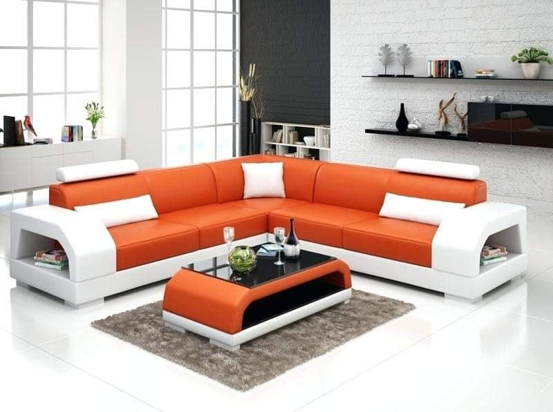 orange living area