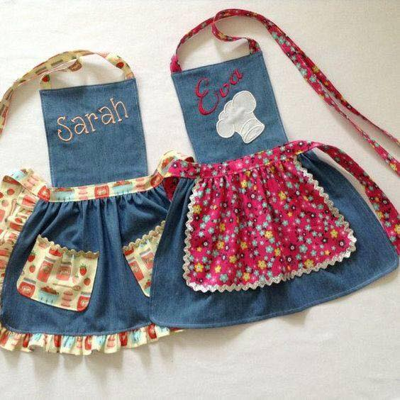 DIY Aprons by Reusing Old Jeans