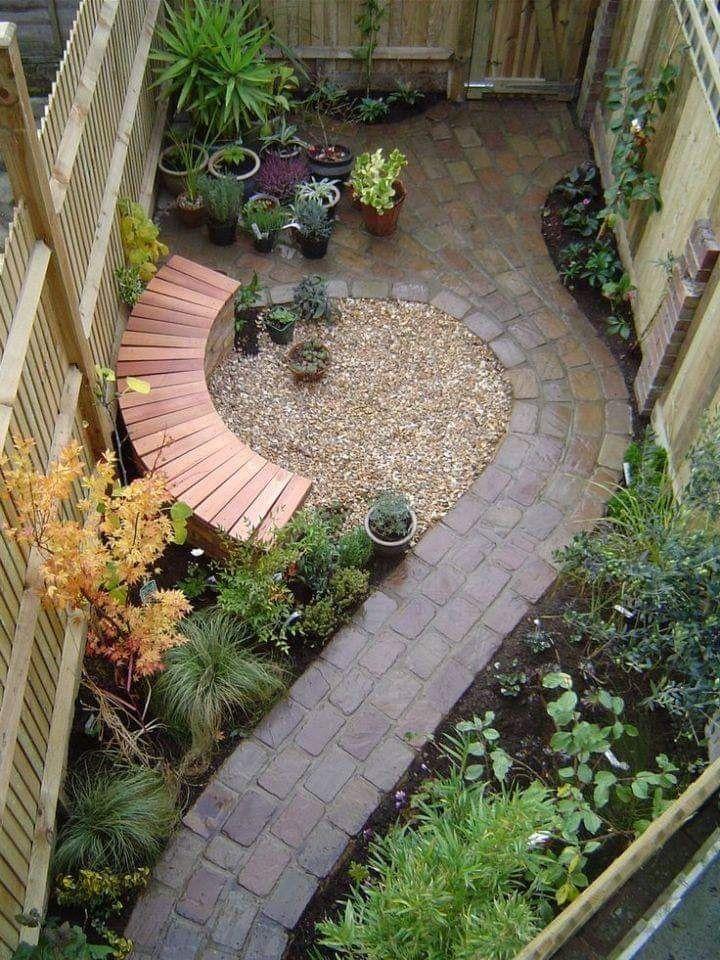vibrant small garden