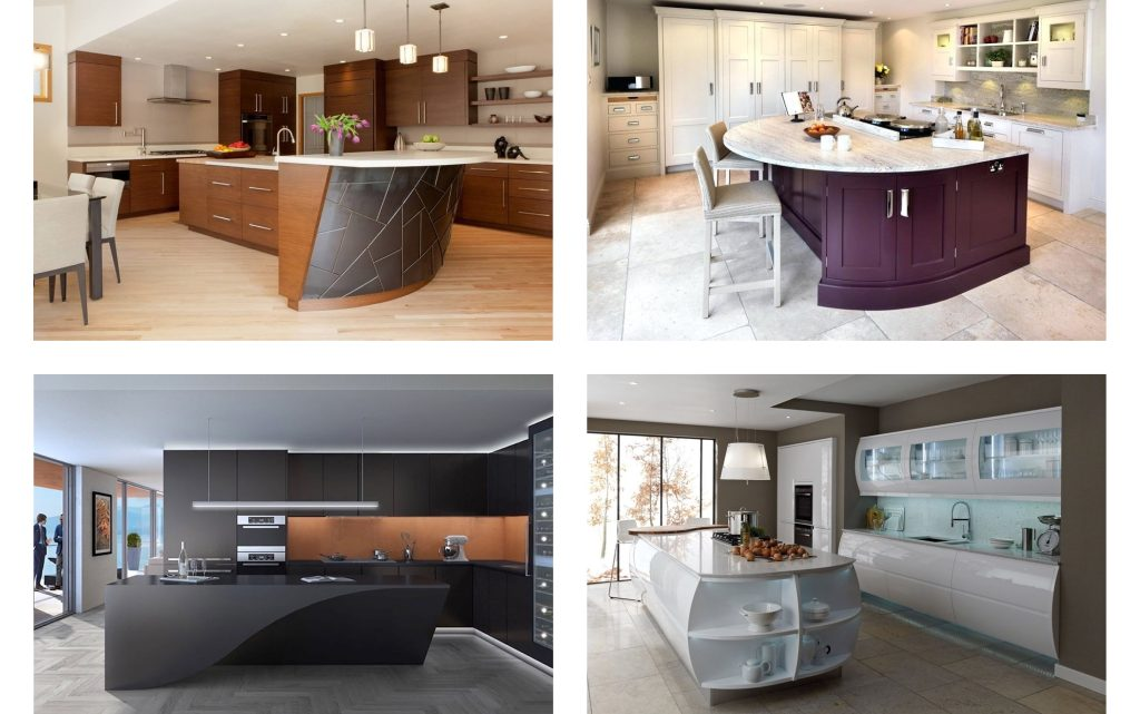Give a Curvy Twist to your Kitchen Island