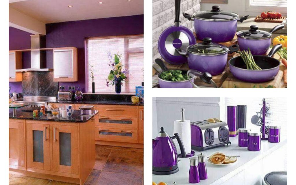 Fancy Kitchen in Purple