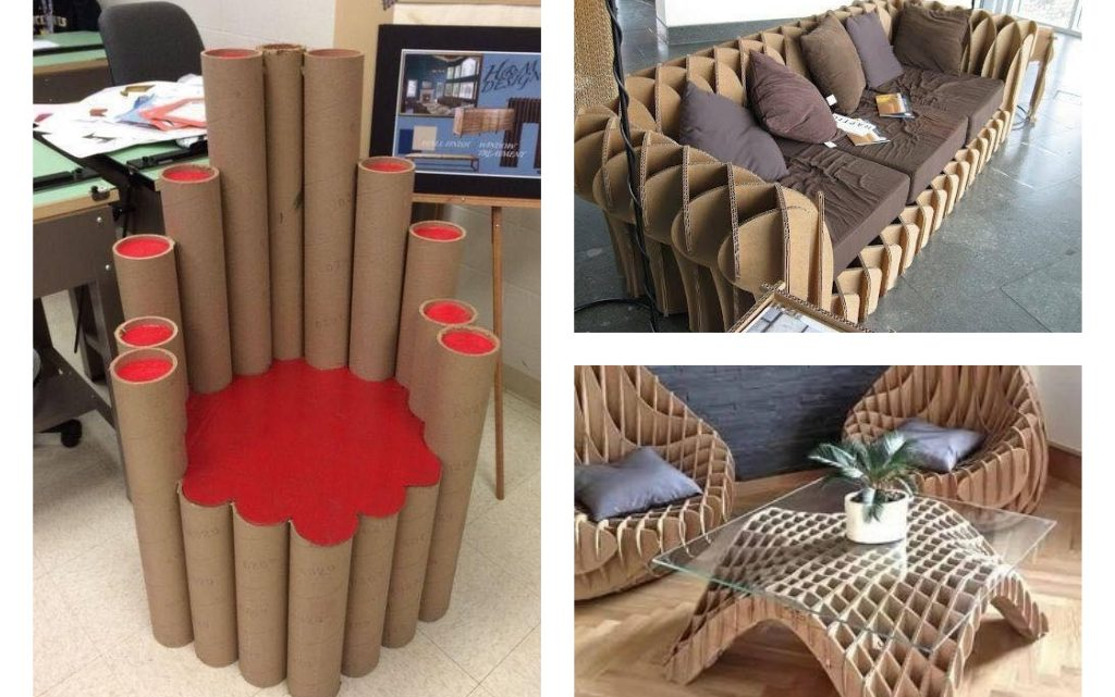 Perfect and Unusual PVC Tubes Reuse and Cardboard