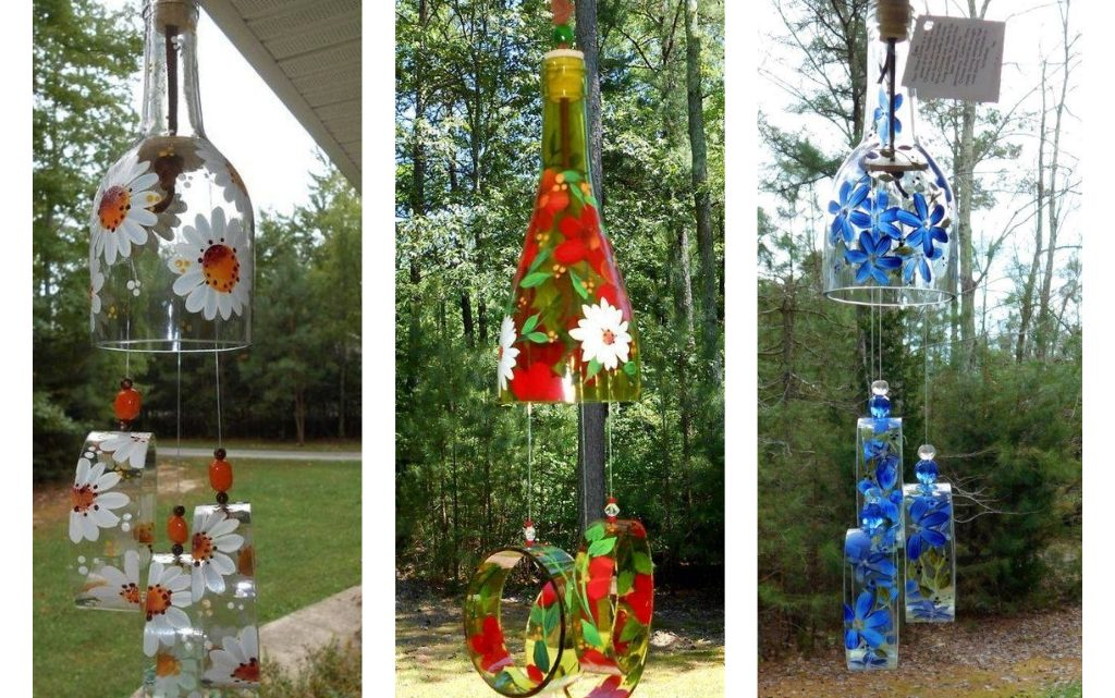 Creative Glass Bottles Reuse