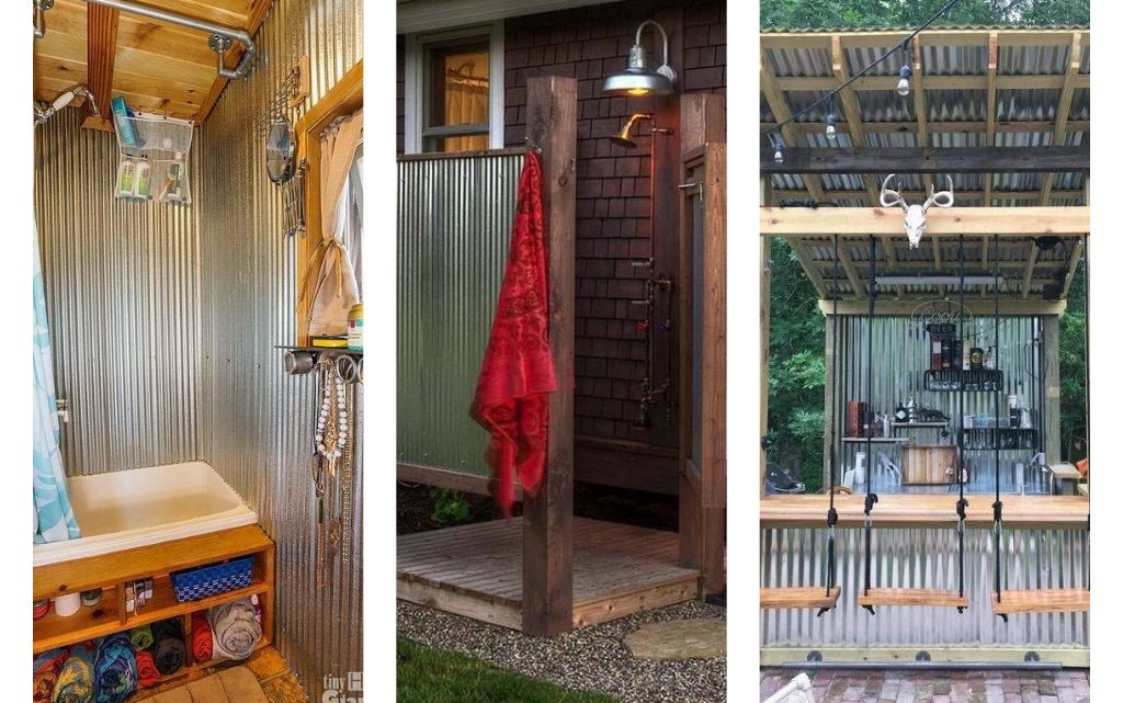 Impressive Ideas with Wood and Galvanized Sheets