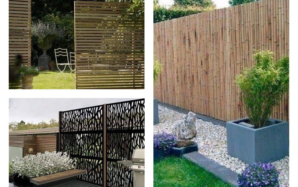 Alluring Outdoor Fencing Ideas