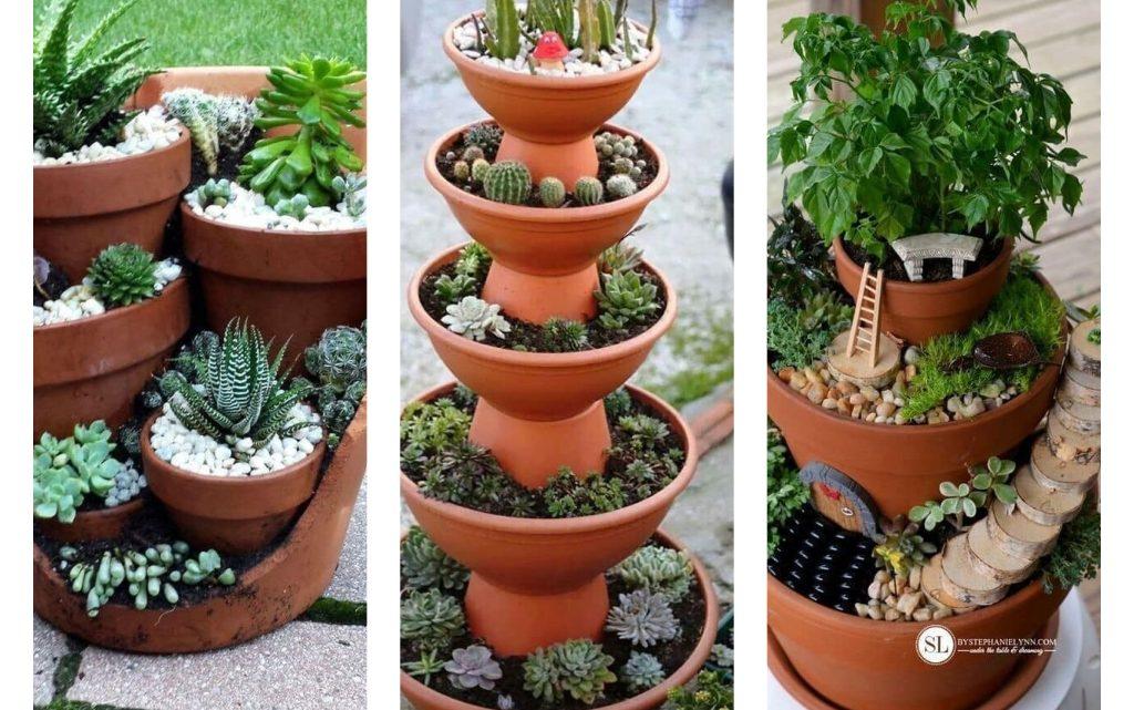 Flower Pot Mini Garden