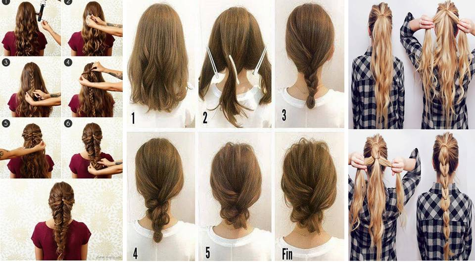 Fabulous Hair Tutorials for Long/Medium Hair