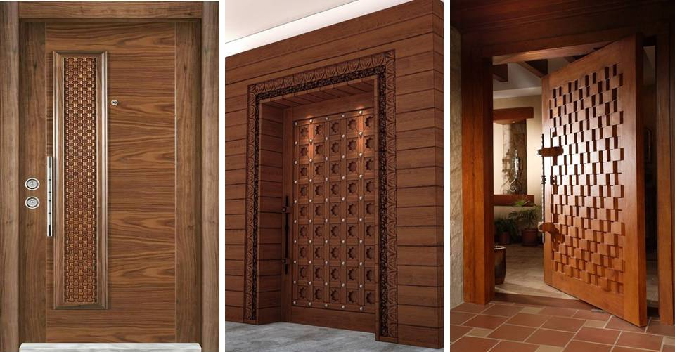 10 Modern Solid Door for Front Part of Home